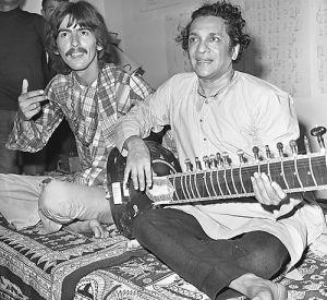 Collaborations  ***  George Harrison & Ravi Shankar George_harrison_ravi_shankar