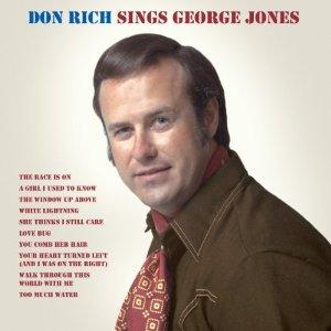 Don Rich Sings George Jones cover