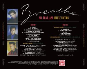 Breathe All That Jazz tray card