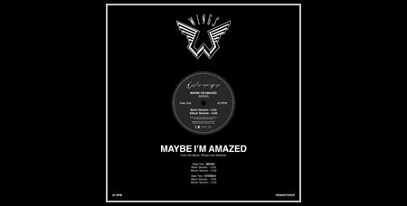 McCartney - Maybe I'm Amazed single