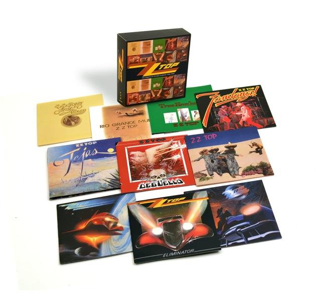 ZZ Top Rhino box