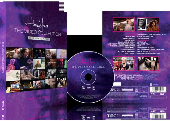 Howard Jones DVD