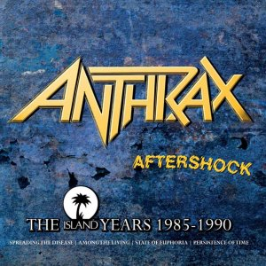 Anthrax Island Years box
