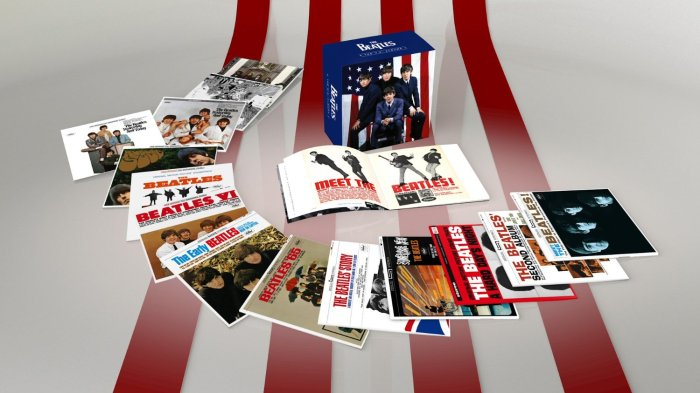 The Beatles - U.S. Albums Box