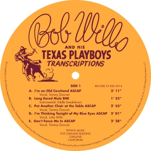 Bob Wills - Label